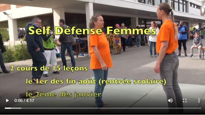 Auto-défense femme